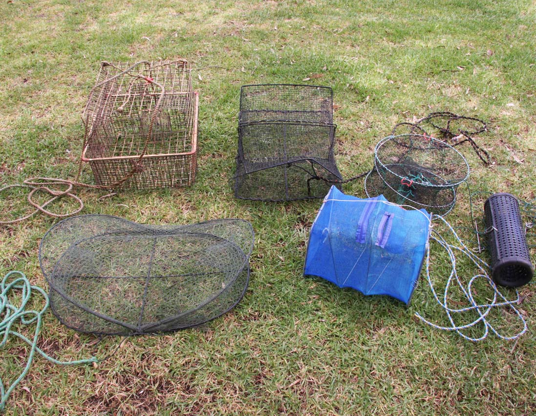 AGLG fish trap marron canning river banned